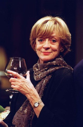 "Dame MAGGIE SMITH British Actress Seen in Edward Albee's play ""A Delicate..."